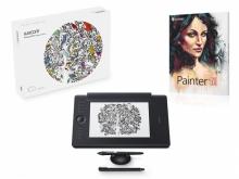 Tablet graficzny Wacom Intuos Pro Medium Paper + Corel Painter 2018