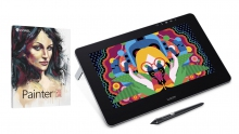 Tablet graficzny LCD Wacom Cintiq Pro 13 + Corel Painter 2018