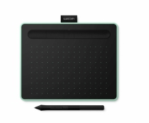 Tablet graficzny Wacom Intuos Pen Bluetooth S (A6) CTL-4100WLEN pistacjowy + 2 programy + kurs obsługi PL. Wypożyczalnia - egzemplarz demo.