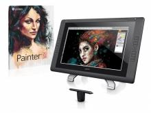Tablet graficzny LCD Wacom Cintiq 22HD + Corel Painter 2018