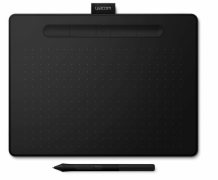Tablet graficzny Wacom Intuos Pen Bluetooth M (A5) CTL-6100WLKN czarny + 3 programy + kurs obsługi PL - OUTLET