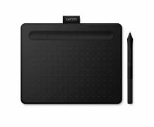 Tablet graficzny Wacom Intuos Pen Bluetooth S (A6) CTL-4100WLKN czarny + 2 programy + kurs obsługi PL
