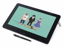 Tablet graficzny LCD Wacom Cintiq Pro 16 4K (DTH-1620A)  Wypożyczalnia – egzemplarz demo.