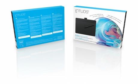 Tablet piórkowo-dotykowy Intuos Art M (A5) (CTH-690A). Wypożyczalnia - egzemplarz demo.