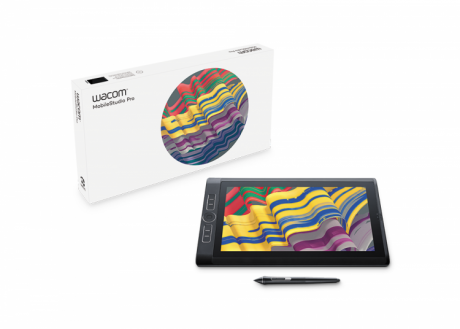 Wacom MobileStudio Pro 13 (128 GB, i5, Win10Home) DTH-W1320L z podstawą ACK-627