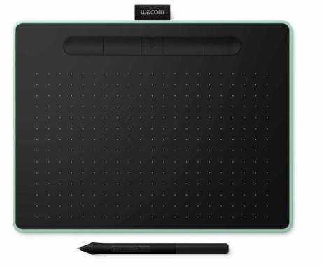 Tablet Wacom Intuos Pen Bluetooth M CTL-6100WLEN pistacjowy + 3 programy + kurs PL. Wypożyczalnia - egzemplarz demo.