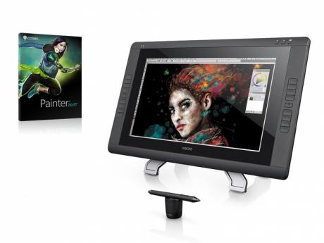 Tablet graficzny LCD Wacom Cintiq 22HD Touch + Corel Painter 2017