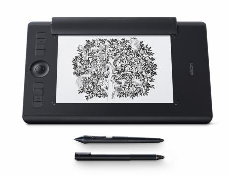 Tablet Intuos Pro Medium (PTH-660-N) wersja PAPER. Wypożyczalnia - egzemplarz demo.