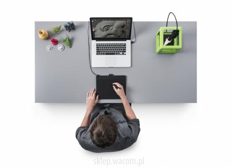 Tablet Wacom Intuos 3D M CTH-690TK czarny + ZBrushCore® + kurs PL
