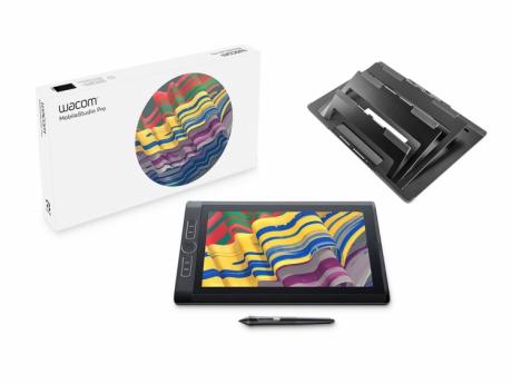 Wacom MobileStudio Pro 13 (256 GB, i7, Win10Pro) DTH-W1320M z podstawą ACK-627