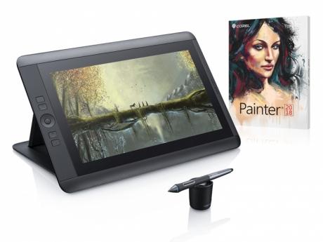 Tablet LCD Wacom Cintiq 13HD + Corel Painter 2018