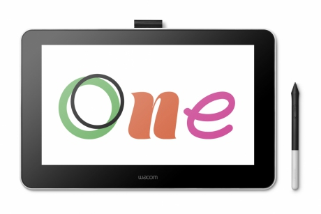 Tablet graficzny LCD 13,3 cala Wacom One (DTC133). Wypożyczalnia – egzemplarz demo.