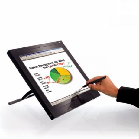Interaktywny ekran biznesowy 17