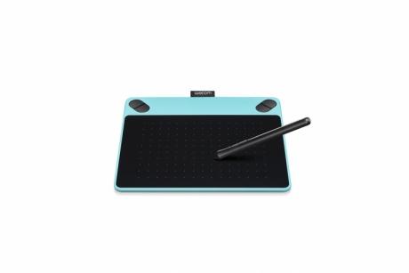 Tablet graficzny Wacom Intuos Comic S (A6) CTH-490CB niebieski + oprogr. + kurs obsługi PL