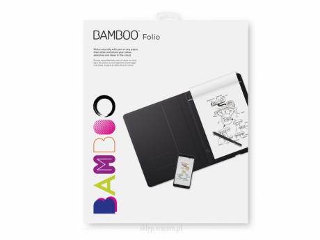 Cyfrowy notatnik Bamboo Folio A5 CDS-610G