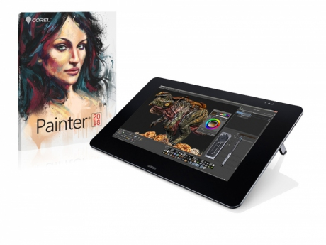 Tablet LCD Wacom Cintiq 27QHD + Corel Painter 2017