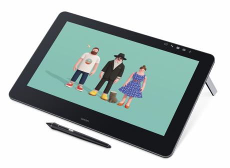Tablet LCD Wacom Cintiq Pro 16 4K (DTH-1620A)  Wypożyczalnia – egzemplarz demo.
