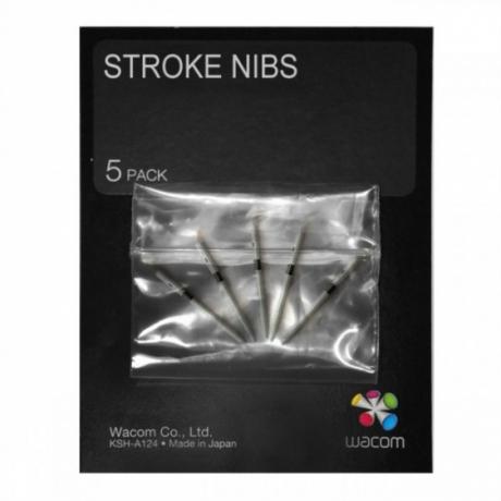 Wkłady sprężynujące Stroke ACK-20002 dla: Intuos4, Intuos5, Intuos Pro, Cintiq 5szt.